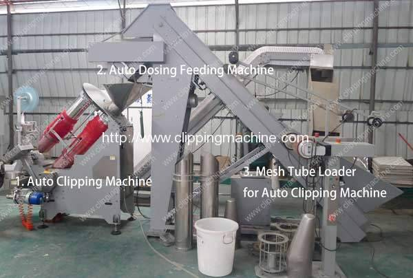 Potato Mesh Bag Packing Line with Constant Weight Feeder