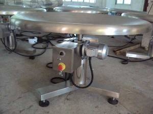 Rotary Collection Table for Mesh Bag Packing Line