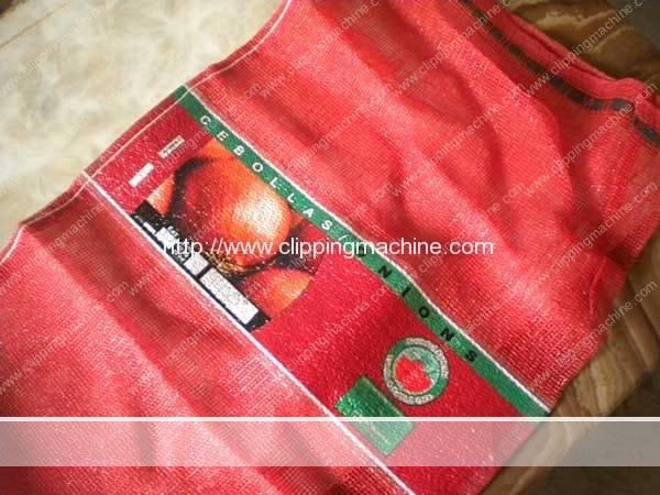 Australia Customer Place Order For Potato Mesh Bag Dosing