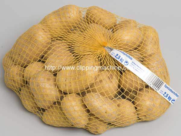 Full Automatic Potato Mesh Bag Packing Machine